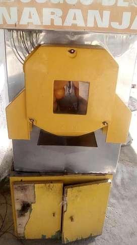 Maquina exprimidor de naranjas industrial