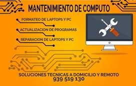 servicio tecnico de computo