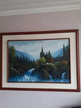 Vendo cuadro ( pintura oleo)