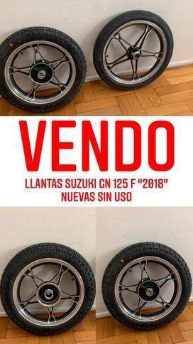 Llantas y cubiertas Suzuki GN 125 F