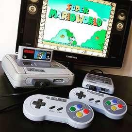 Super nintendo consolas juegos mandos