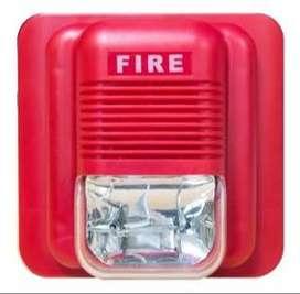Luz y sirena estroboscopica 12V/24V. Hagroy. Sistema de incendio. Alarma de casa. BOSCH. DSC. Norma NFPA