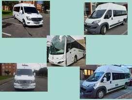 servicios de buses y van lineas troyaños