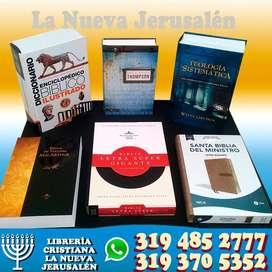 Diccionario enciclopedico bíblico, biblia de estudio