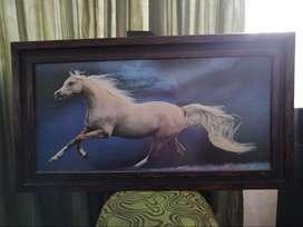 Se vende cuadro caballo usado, buen estado