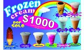 se necesita vendedor de helados