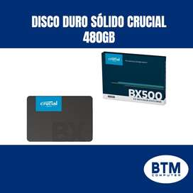 DISCO DURO SOLIDO 480GB CRUCIAL