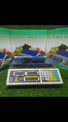 Báscula Gramera Digital 40kg Price Computing Scale