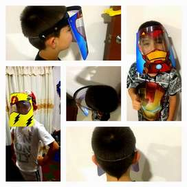 Careta - Protección facial para niños - últimos modelos