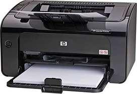 Impresora láser Hewlett Packard HP1102w blanco y negro. USB y WiFi. Recibo tarjetas con Mercado Pago