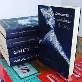 Cincuenta sombras de Grey, primer libro de la saga cincuenta sombras