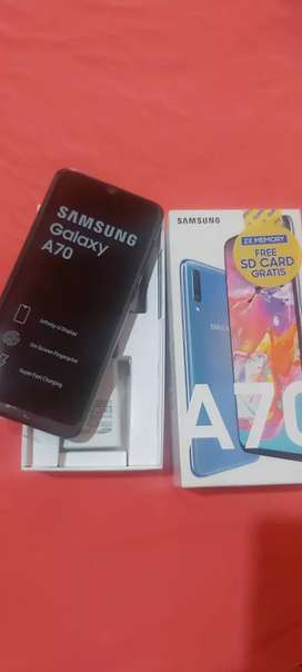 SAMSUNG GALAXY A70 128GB con factura
