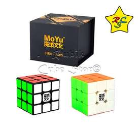 Cubo Rubik Weilong Gts V2 Magnetico Gts2m Speed Negro