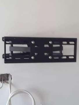 Soportes de televisores instalados