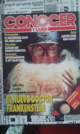 Revista Conocer Y Saber Numero 31 Año 1991