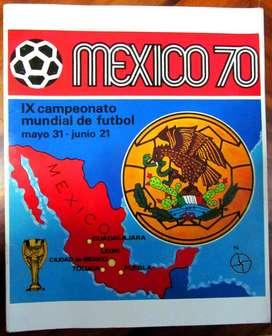 Álbumes Impresos y Completos: 1970, 1974 y 1978. Panini. 2014