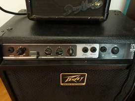 Amplificador de bajo Peavey max 112