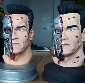 Figura de Terminator pintada a Mano