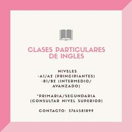 Clases Particulares de Ingles!!