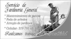 Servicio de Jardineria en El Oriente
