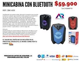 Minicabina con Bluetooth  Ref. JBK