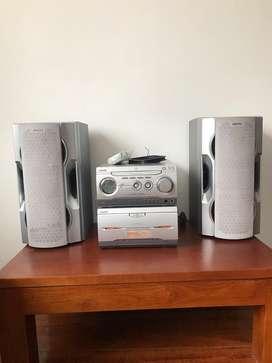 Equipo de sonido Sony MHC - WZ5