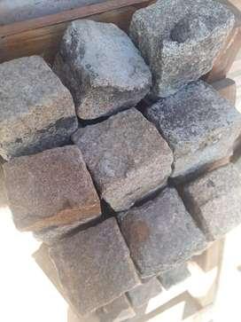 Lote adoquines usados entre 8 y 10cm.