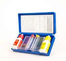 Kit medidor o analizador de ph y cloro