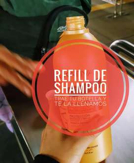 Shampoo artesanal natural ,rellenable,refill