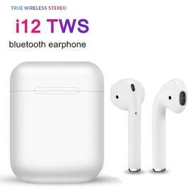 Audifonos Inalambricos I12 Tactil Tws Originales Tipo AirPods Bluetooth
