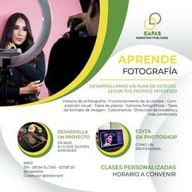 APRENDE FOTOGRAFÍA DE FORMA PERSONALIZADA