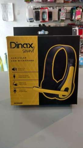 Auriculares con micrófono Dinax
