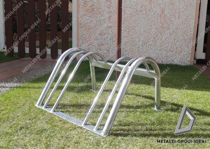 Biciparqueadero desde 2 puestos Bicicletero Estacionamiento soporte 0