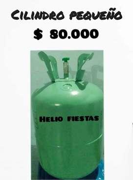 Venta y recarga de cilindros con  helio en Medellín.