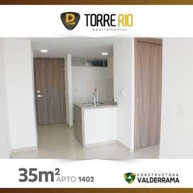 Apartamento a la venta para estrenar en Torre Rio - Aurora - Bucaramanga