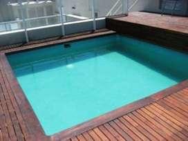 alquilo por dia y mas tiempo en congreso piscina 2 personas -wifi
