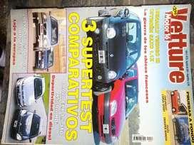 Revista vetture- LOTE 2- año4 nro33 agosto 2001+año2 nro7 abril 99