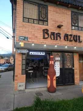 Se vende Bar Azul