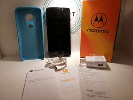 Vendo Moto E5 2019 Impecable