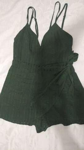 Jumper corto verde