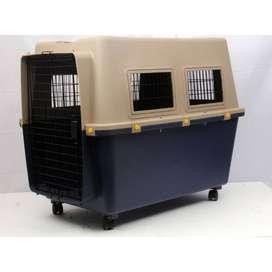 Kennel Transportador de Perros Grandes L100. Con piso Impermeable. Para usar en Avión