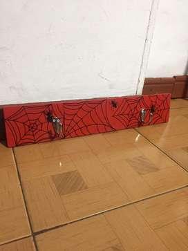 Perchero spiderman