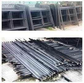 Andamios Formaletas Equipos Construccion concreto vibradores mordazas fonclas formclamps cortadora ladrillo piso