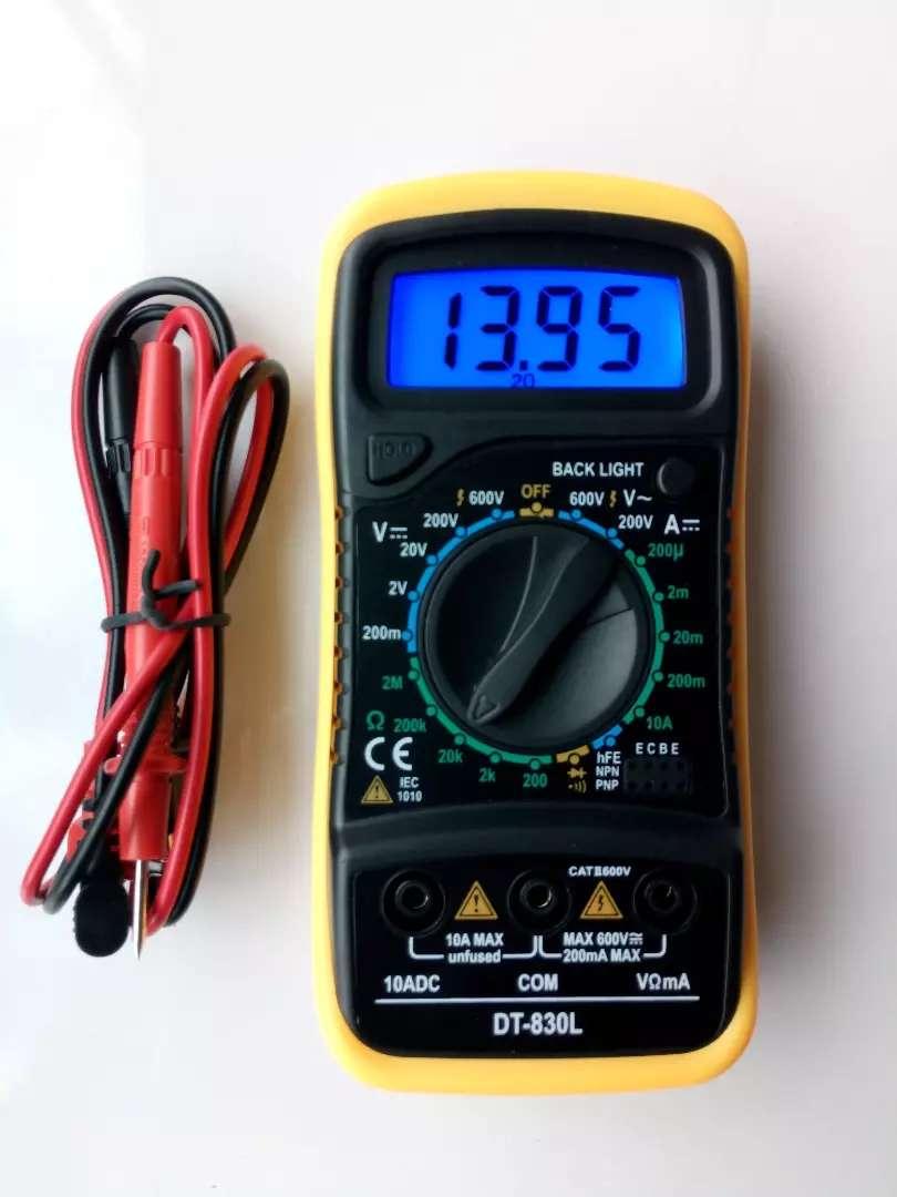 Multímetro Digital Dt830l Tipo Bolsillo