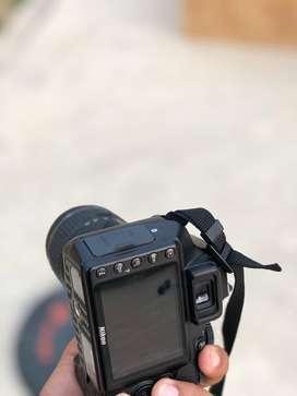 Camara nikon D 3400 Articulo 10/10 practicamente nuevo