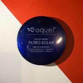Polvo facial filtro solar