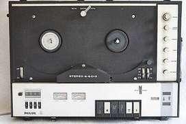 Plhilips Steeo 4408 Grabador de cinta abieta