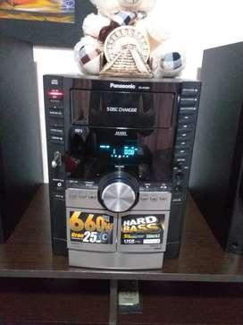 Equipo Panasonic ak860