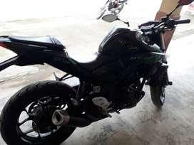 Se vende moto Yamaha MT03 de opotunidad en buen estado