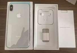 Iphone xs max blanco de 64 gigas como.nuevo